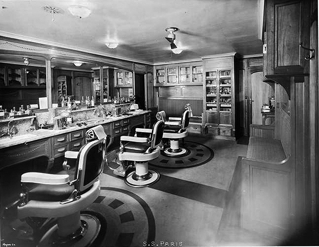 First Class, Barber Shop.