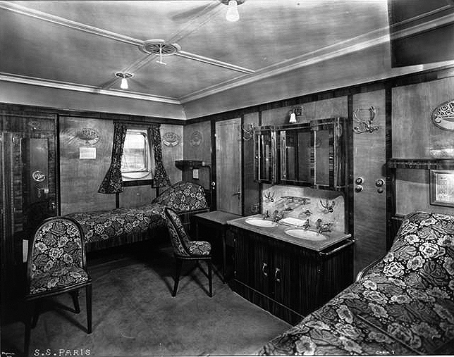 First Class, Stateroom #7.