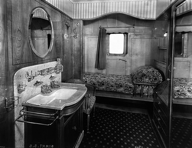 First Class, Stateroom #17.