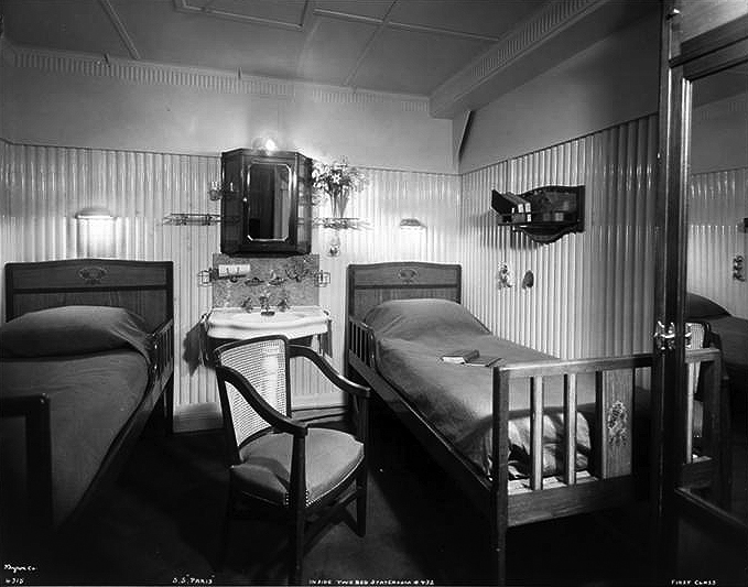 First Class, Stateroom #432.