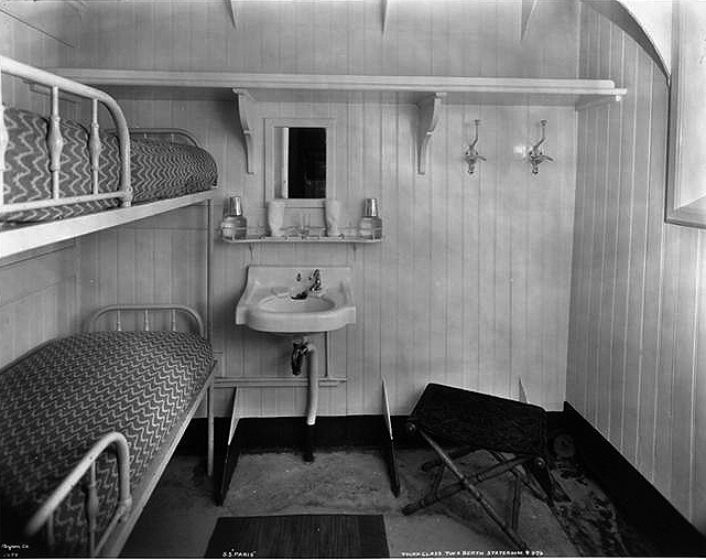 Third Class, Two Berth Stateroom #976.