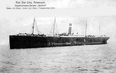 Red Star Line's Samland