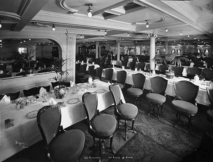 013-First Class Dining Room
