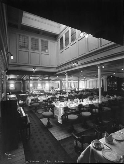 015-Second Class Dining Room, B