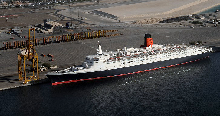 QE To Stay Permanently In Dubai Oceanliners And Classic Cruise - Qe2 cruise ship
